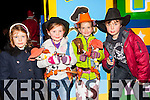 Toy Story fans Yelizavet Malberg, Emma Dowling, Daniel Murphy and Jessica Uchytil looking for Woody at the Christmas in Killarney parade on Friday night