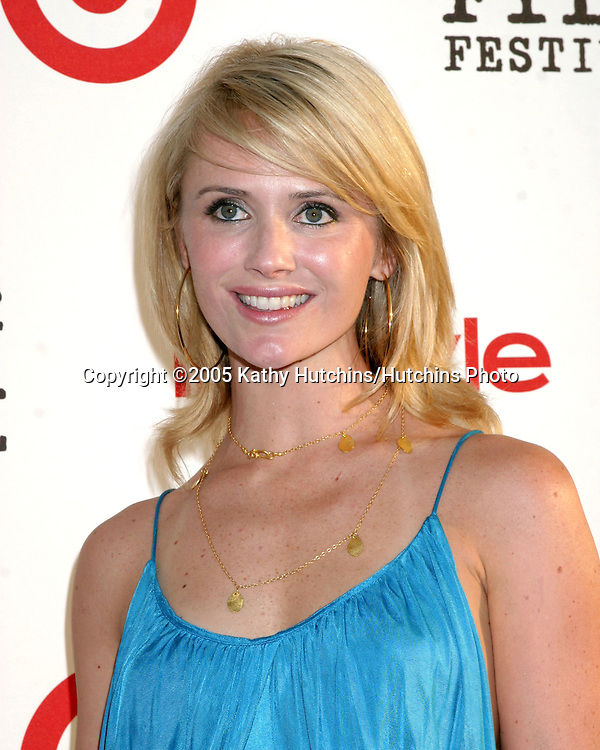 """Jennifer Siebel.Los Angeles Film Festival Opening Night.""""Down in the Valley"""" .ArcLight Cinerama Dome.Los Angeles, CA.June 16, 2005.©2005 Kathy Hutchins / Hutchins Photo"""