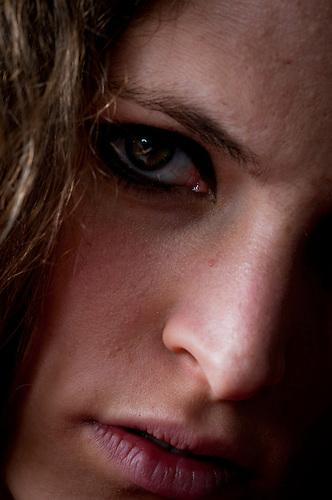 Cute female portrait.
