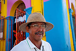 One of the local tour guides in the city of San Jose del Cabo, Baja, Mexico. The city San José del Cabo is located in Baja California Sur Mexico and is the seat of the municipality of Los Cabos at the south end of the Baja California peninsula.