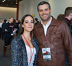Mariana Atencio and Jose Torbay during the Ted X event on Saturday, Jan. 27, 2018 at the Reno-Sparks Convention Center in Reno.