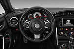 Car pictures of steering wheel view of a 2017 Toyota 86 Automatic 2 Door Coupe Steering Wheel