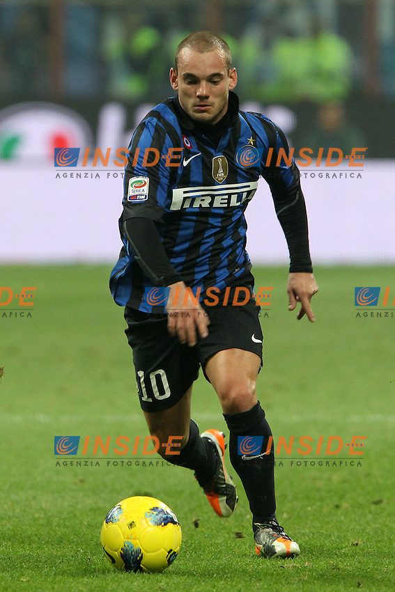 Wesley Snejider Inter..Milano 29/10/2011 Stadio S.Siro..Football / Calcio Serie A 2011/2012..Inter vs Juventus..Foto Paolo Nucci Insidefoto
