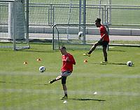 16th April 2020, Stuttgart, Germany;  VfB Stuttgart Training with Philipp Förster, Daniel Didavi keeping distance