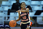 05 November 2014: Carson-Newman's Jai Jai McLaughlin. The University of North Carolina Tar Heels hosted the Carson-Newman University Eagles at Carmichael Arena in Chapel Hill, North Carolina in an NCAA Women's Basketball exhibition game. UNC won the game 88-27.