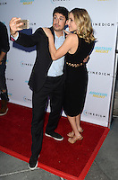 HOLLYWOOD, CA - JULY 25: Jason Biggs and Jenny Mollen at the Premiere Of Cinedigm's 'Amateur Night' at ArcLight Hollywood on July 25, 2016 in Hollywood, California. Credit: David Edwards/MediaPunch