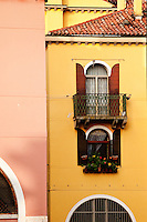 The Cannaregio district of Venice, Italy