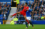 Sevilla's Jesus Navas during the pre season friendly match at Goodison Park Stadium, Liverpool. Picture date 6th August 2017. Picture credit should read: Paul Thomas/Sportimage