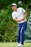 C.T. Pan (TAI) watches his tee shot on 3 during round 3 of the Honda Classic, PGA National, Palm Beach Gardens, West Palm Beach, Florida, USA. 2/25/2017.<br /> Picture: Golffile | Ken Murray<br /> <br /> <br /> All photo usage must carry mandatory copyright credit (&copy; Golffile | Ken Murray)