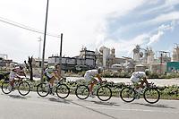 Yukihiro Doi, Travis Meyer, Thierry Hupond and Chang Ji during the stage of La Vuelta 2012 between Ponteareas and Sanxenxo.August 28,2012. (ALTERPHOTOS/Acero) /NortePhoto.com<br /> <br /> **CREDITO*OBLIGATORIO** <br /> *No*Venta*A*Terceros*<br /> *No*Sale*So*third*<br /> *** No*Se*Permite*Hacer*Archivo**<br /> *No*Sale*So*third*