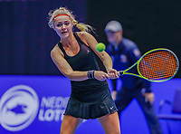 Rotterdam, Netherlands, December 12, 2017, Topsportcentrum, Ned. Loterij NK Tennis,  Laura Rijkers (NED)<br /> Photo: Tennisimages/Henk Koster