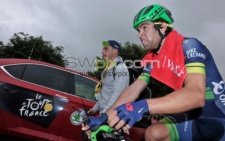 Picture by Simon Wilkinson/SWpix.com - 03/07/2016 - Cycling Tour de France Stage 2 - Saint Lo - Cherbourg en Contentin<br /> Michael Matthews<br /> copyright picture - Simon Wilkinson - simon@swpix.com