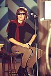 Scott Walker 1969 on his TV series.© Chris Walter.