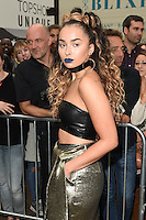 Ella Eyre<br /> arrives for the TopShop UNIQUE catwalk show as part of London Fashion Week SS17, Old Spitalfields Market, London<br /> <br /> <br /> &copy;Ash Knotek  D3155  17/09/2016