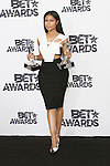 Nicki Minaj  poses  in the press room during the 2015 BET Awards at the Microsoft Theater on June 28, 2015 in Los Angeles, California,USA.