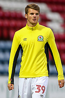 Blackburn Rovers' Matthew Platt <br /> <br /> Photographer Andrew Kearns/CameraSport<br /> <br /> The EFL Checkatrade Trophy - Blackburn Rovers v Stoke City U23s - Tuesday 29th August 2017 - Ewood Park - Blackburn<br />  <br /> World Copyright &copy; 2018 CameraSport. All rights reserved. 43 Linden Ave. Countesthorpe. Leicester. England. LE8 5PG - Tel: +44 (0) 116 277 4147 - admin@camerasport.com - www.camerasport.com