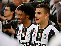 \21\ and Juan Cuadrano    during the Italian Cup Final  football match between Juventus FC and SS Lazio at  the Olympic stadium in Rome, Italy on the 17th May 2017