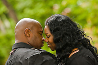 Engagement Photos of Jason Sawyer and Jhernee Hunt in Atlanta, GA