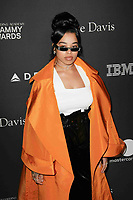 BEVERLY HILLS, CA- FEBRUARY 09: Ella Mai at the Clive Davis Pre-Grammy Gala and Salute to Industry Icons held at The Beverly Hilton on February 9, 2019 in Beverly Hills, California.      <br /> CAP/MPI/IS<br /> ©IS/MPI/Capital Pictures