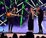 CORAL GABLES, FL - APRIL 28: Jesse & Joy and Louis Coronel performs onstage at the Billboard Latin Music Awards at the BanKUnited Center on Thursday April 28, 2016 in Coral Gables, Florida. ( Photo by Johnny Louis / jlnphotography.com )