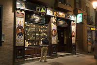 Spanien, English Pub im Viertel Huertas  in Madrid