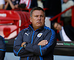 Craig Shakespeare manager of Leicester City during the Carabao Cup, second round match at Bramall Lane, Sheffield. Picture date 22nd August 2017. Picture credit should read: Simon Bellis/Sportimage