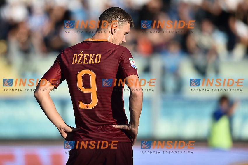 Edin Dzeko Roma <br /> Empoli 30-10-2016 Stadio Castellani <br /> Football Calcio Serie A 2016/2017 Empoli - AS Roma Foto Andrea Staccioli / Insidefoto