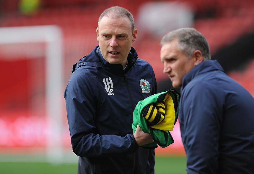 Blackburn Rovers First Team Coach John Henry during the pre-match warm-up <br /> <br /> <br /> Photographer Ashley Crowden/CameraSport<br /> <br /> The EFL Sky Bet Championship - Bristol City v Blackburn Rovers - Saturday 22nd October 2016 - Ashton Gate - Bristol<br /> <br /> World Copyright &copy; 2016 CameraSport. All rights reserved. 43 Linden Ave. Countesthorpe. Leicester. England. LE8 5PG - Tel: +44 (0) 116 277 4147 - admin@camerasport.com - www.camerasport.com