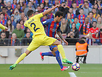 06.05.2017 Barcelona. La Liga game 31. picture show Neymar in action during game between FC Barcelona against Villarreal at Camp Nou