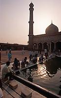 in der Jama Masjid, Delhi, Indien