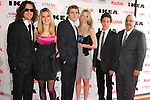 "ZACK BENNETT, ADRIANA SAVALAS, WES WHITWORTH, MEREDITH BROWN, ZACH CUMER, SEAN MICHAEL BEYER. Cast and friends of the web series, ""Poor Paul,"" attend the 2nd Annual Streamy Awards at the Orpheum Theatre in Downtown Los Angeles.  Los Angeles, CA, USA. 4/11/2010.."