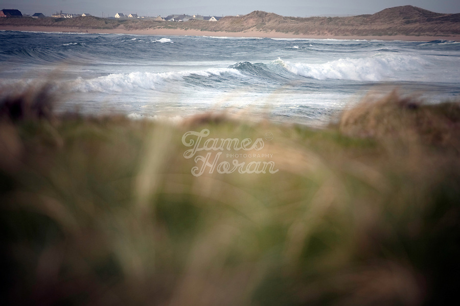 The surf at Doonbeag Beach Co Clare, Ireland. Picture James Horan