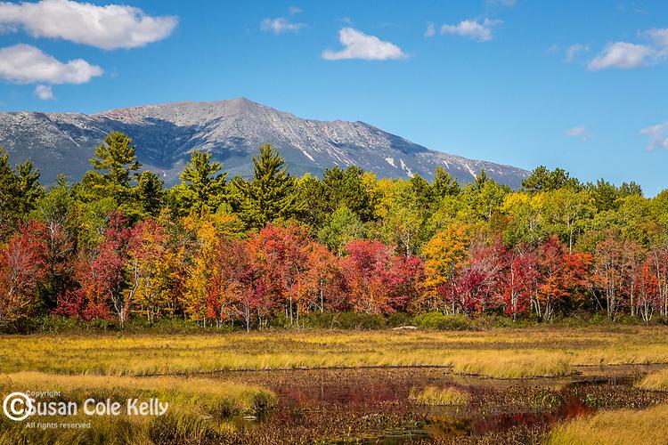Mount Katahdin in Baxter State Park, Maine, USA