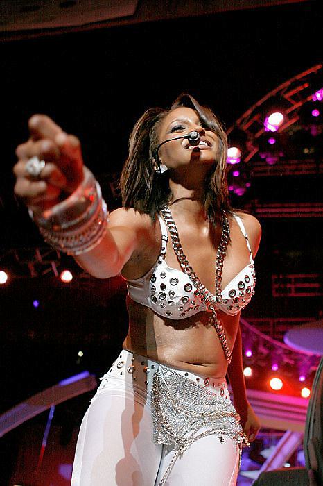 NEW ORLEANS - JULY 05:  Ciara performs at 2007 Essence Music Festiva  (Photo by Soul Brother/Getty Images)