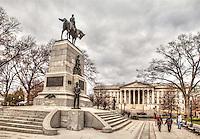 General Sherman Monument US Treasury Washington DC Architecture