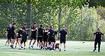 16.05.2018 Livingston FC training and presser: Nicky Cadden
