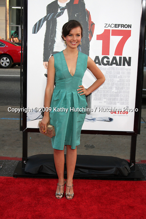 Allison Miller  arriving at the 17 Again Premiere at Grauman's Chinese Theater in Los Angeles, CA on April 14, 2009.©2009 Kathy Hutchins / Hutchins Photo....                .