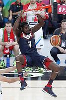 USA's Kenneth Faried during 2014 FIBA Basketball World Cup Quarter-Finals match.September 9,2014.(ALTERPHOTOS/Acero)