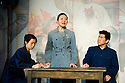 Wild Swans by Jung Chang. A Co Production between American Reportary Theatre and The Young Vic adapted by Alexandra Wood directed by Sacha Wares. With Annie Chang as Dai,Celeste Den as Ting,Victor Chi as Heng. Opens at The Young Vic Theatre  on 20/4/12 CREDIT Geraint Lewis