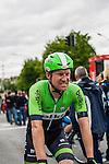 Lars Petter Nordhaug (NOR,BEL) after finishing at Liège-Bastogne-Liège, Ans, Belgium, 27 April 2014, Photo by Pim Nijland / www.pelotonphotos.com