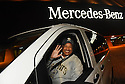 Local hero Pastor Fred Luter Jr. prepares to drive back to his congregation in a newly awarded Mercedes-Benz Metris Passenger Van, hand-delivered by Brandin Cooks on November 23, 2015.