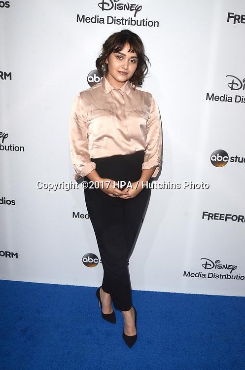 LOS ANGELES - MAY 21:  Ariela Barer at the 2017 ABC/Disney Media Distribution International Upfront at the Walt Disney Studios on May 21, 2017 in Burbank, CA