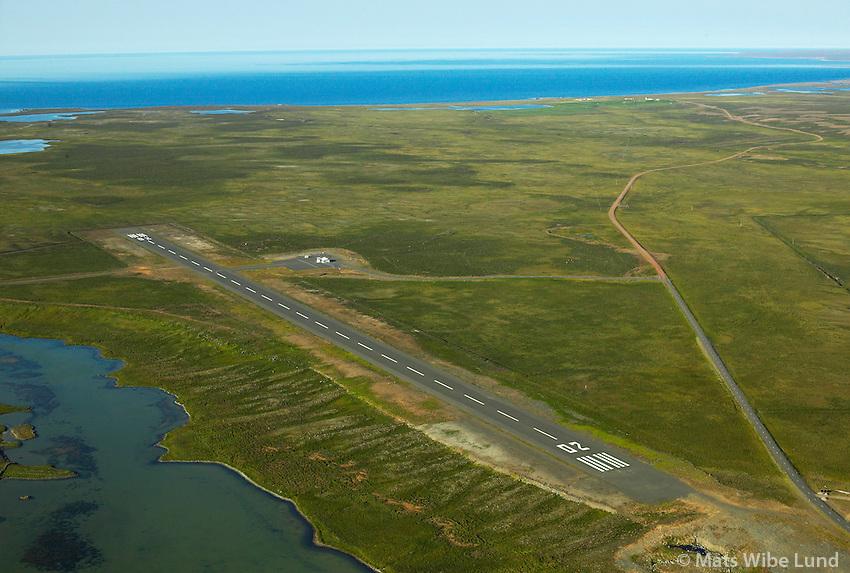 BITN Þórshafnarflugvöllur séð til norðurs /.BITN Thorshofn airport viewing north