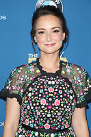 BEVERLY HILLS, CA - FEBRUARY 3: Milana Vayntrub at the 70th Annual Directors Guild of America Awards (DGA, DGAs), at The Beverly Hilton Hotel in Beverly Hills, California on February 3, 2018.  <br /> CAP/MPI/FS<br /> &copy;FS/Capital Pictures