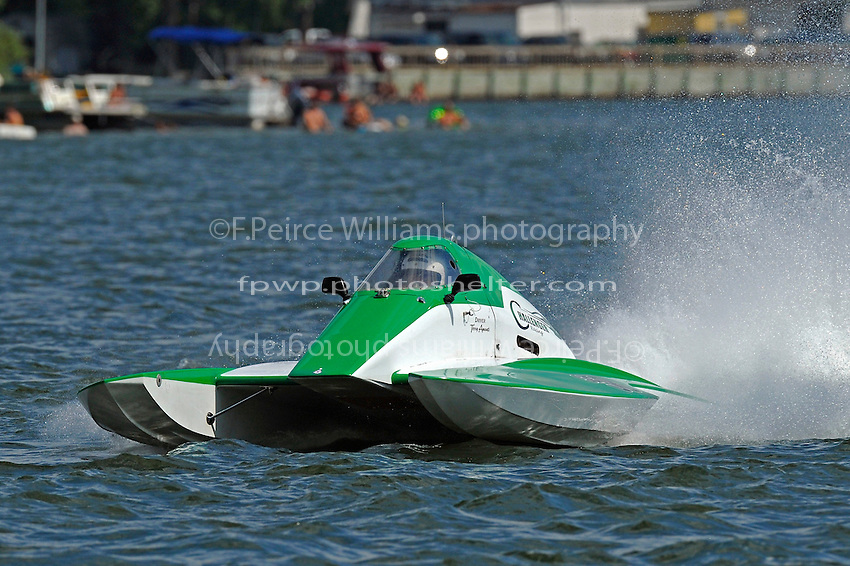"""Terry Amanti, S-58 """"Challenger Racing"""" (2.5 Litre Stock hydroplane(s)"""