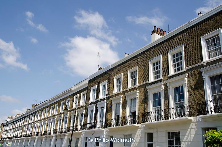 Camden Council housing: Gloucester Avenue, Primrose Hill