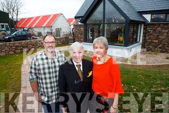 Owners of Sandy Feet Farm in Camp Roy and Eleanor Bowler launched their new business on Thursday afternoon which was filmed by RTE's At Your Service with Francis Brennan.