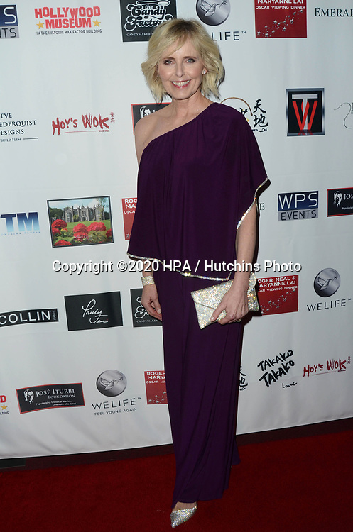 LOS ANGELES - FEB 9:  Annica Liljeblad at the 5th Annual Roger Neal & Maryanne Lai Oscar Viewing Dinner at the Hollywood Museum on February 9, 2020 in Los Angeles, CA