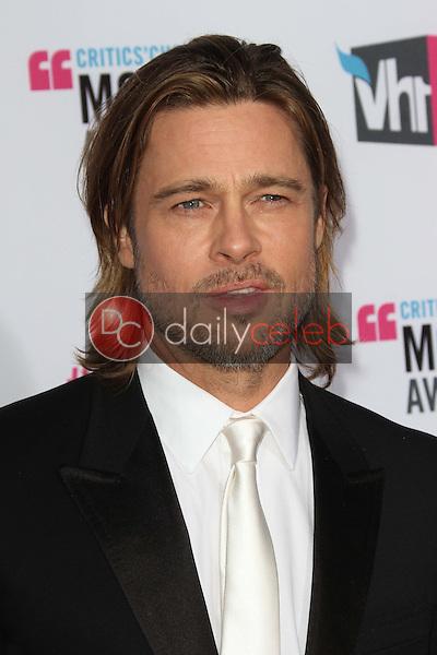 Brad Pitt<br /> at the 17th Annual Critics' Choice Movie Awards, Palladium, Hollywood, CA  01-12-12<br /> David Edwards/DailyCeleb.com 818-249-4998