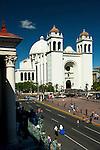 San Salvador Cathedral in San Salvador, El Salvador.